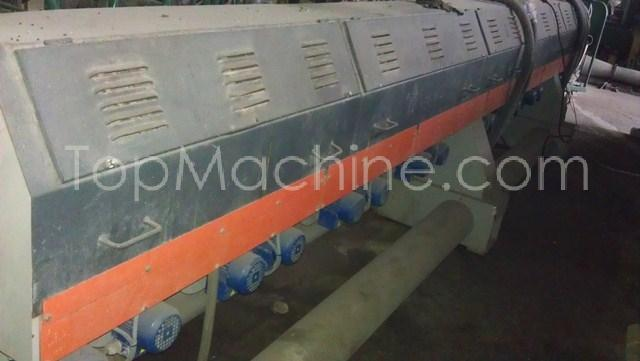 Used Tecnova E 130 54 D Recycling Repelletizing line