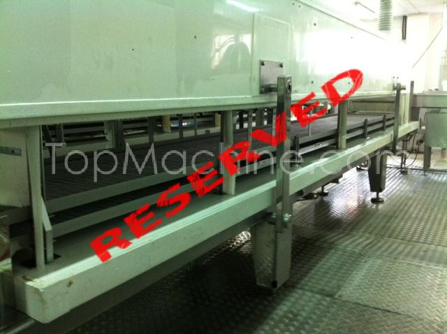 Used Kelox ZIP-Freeze 60 X 6 Food Process, Freeze and Cooling