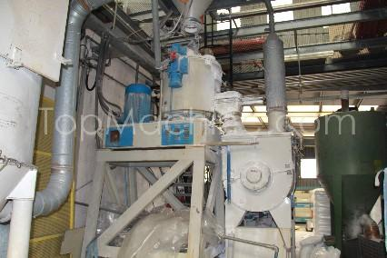 Used Plasmec TRM 300 RFO 1000 Compounding Mixers
