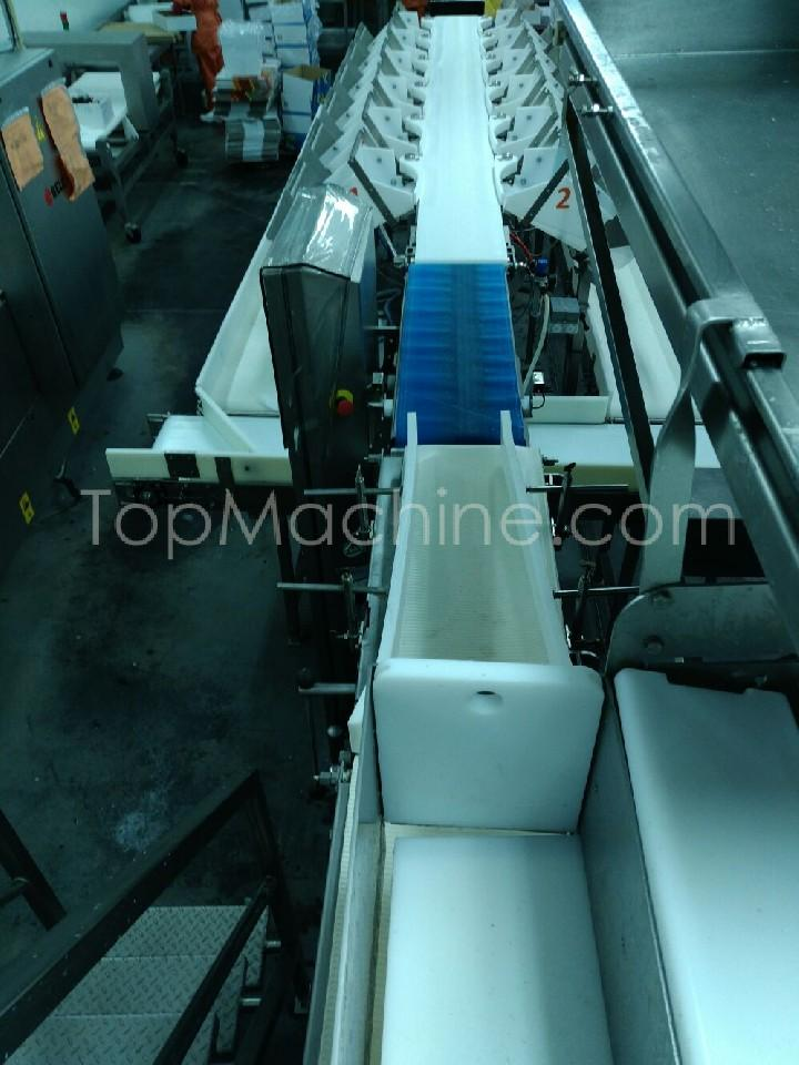 Used Scanvaegt Scanbatcher 4700 Food Packing, Weighers, Sorters