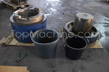 Used Moulds for PE/PP various pots Formowanie wtryskowe Formy