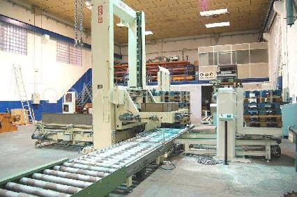 Used OCME P115/N/S/F Cardboard Wrapping, Palletising