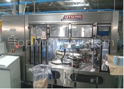 Used P.E. Labellers Futura Top 810/20T/1S-1E Beverages & Liquids Labeller