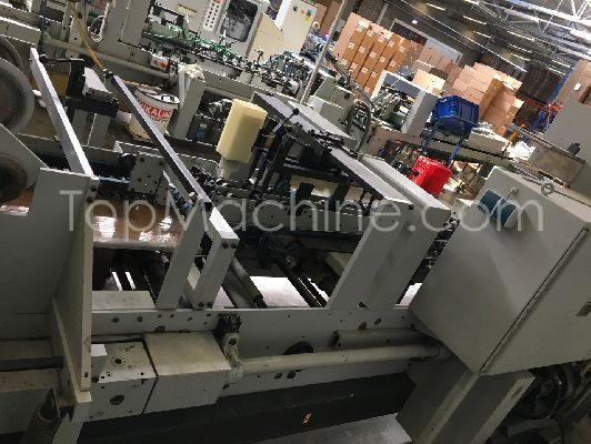 Used BOBST DOMINO 90 Cardboard Folder and gluer