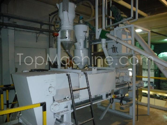 Used Theysohn TSK 090 36 Compounding Compounding line