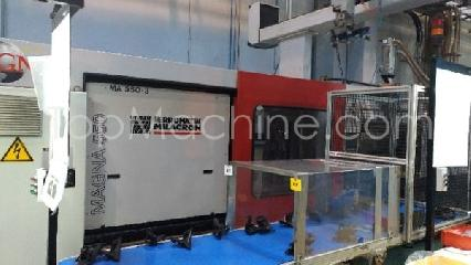 Used Ferromatik VM 550/4800 Injection Moulding Clamping force up to 1000 T