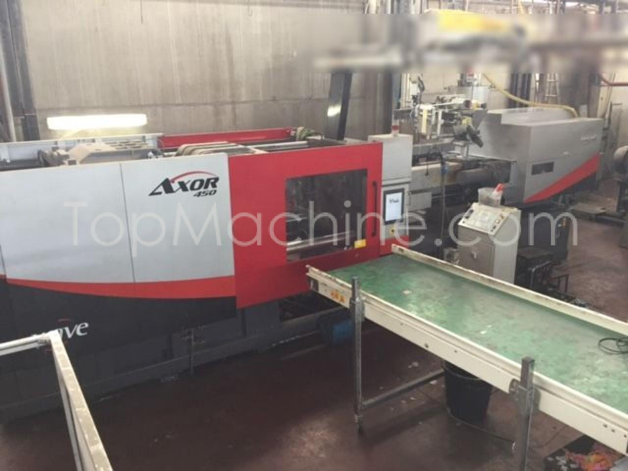 Used Wave Swiss Axor 450/3237 HS45 (Full electric) Injection Moulding Clamping force up to 1000 T