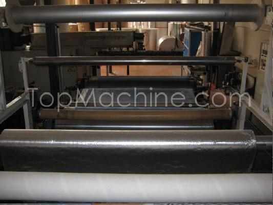 Used Torninova Polyboll 1600 Film & Print Air bubble film extrusion line