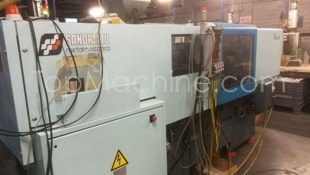 Used Sandretto MICRO 50 500/247 Injection Moulding Clamping force up to 1000 T