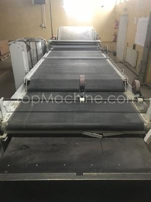 Used STOCK 134R5/1500P Cardboard Coating and laminating