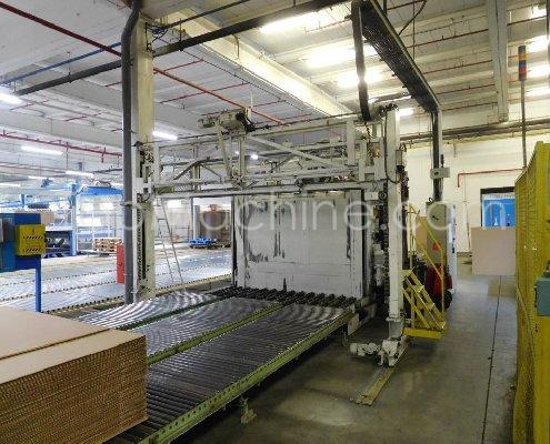 Used NEUBRONNER JETTACK 4200 Cardboard Folder and gluer