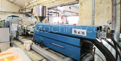 Used BMB MC 200 Injection Moulding Clamping force up to 1000 T