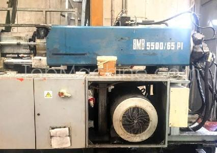 Used BMB KW 65PI / 5500 Injection Moulding Clamping force up to 1000 T