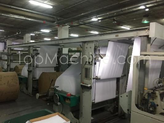 Used KUGLER WOMAKO-PEMCO FC 728 Paper and Printers Sheeters and Guillotines