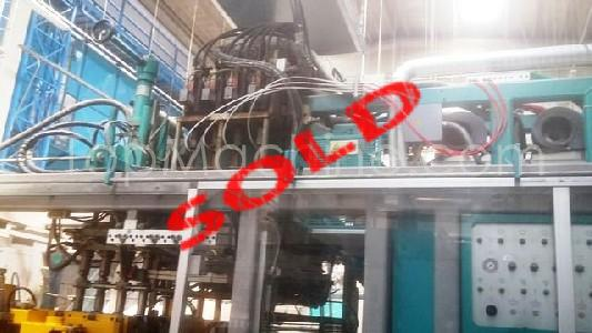 Used Techne System 4000 T-660 Bottles, PET Preforms & Closures Extrusion Blow Molding