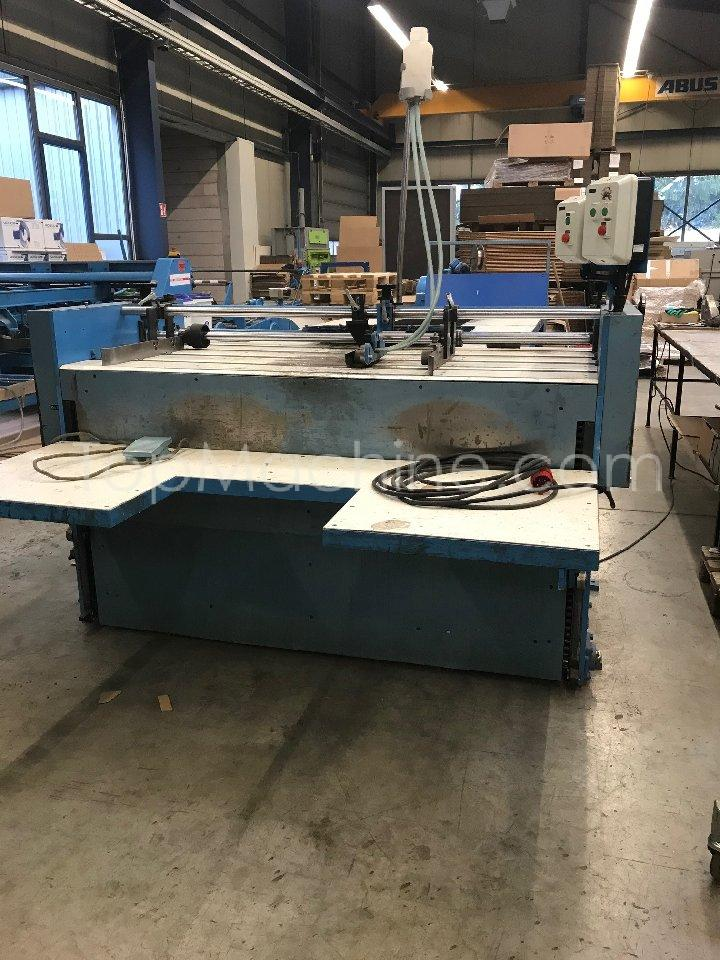 Used KIRBY PCG 141 Cardboard Folder and gluer