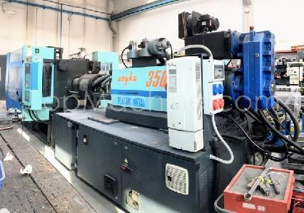 Used NPM UNYKA 350 Injection Moulding Clamping force up to 1000 T