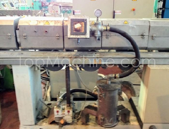 Used Refurbished Tecnova D90 Recycling Repelletizing line