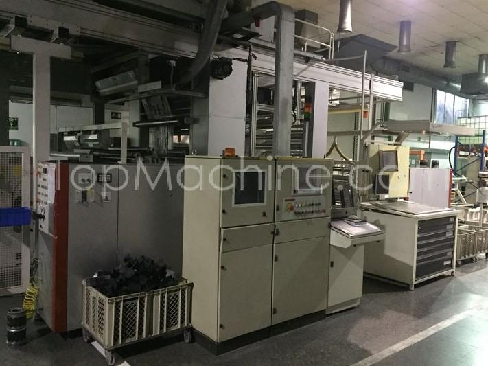 Used Comexi FB 2108 Film & Print CI flexo printing presses