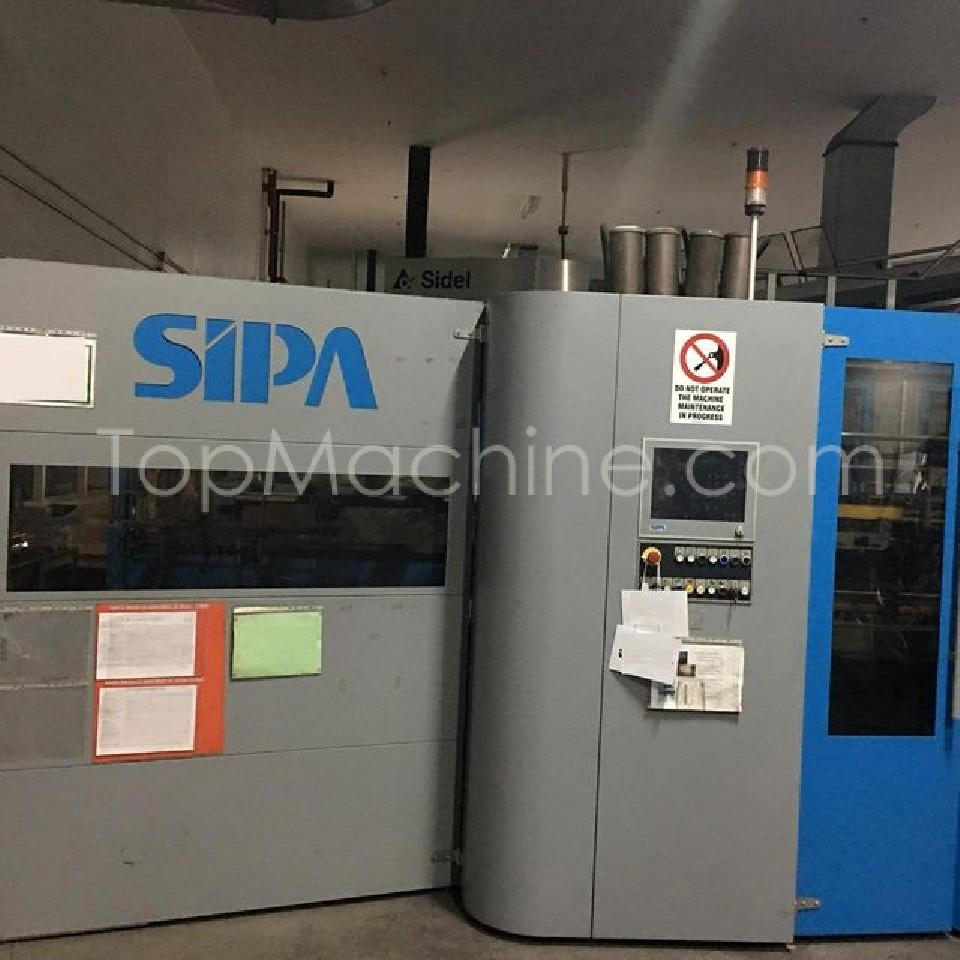 Used Sipa SFL 4 /4 Bottles, PET Preforms & Closures PET Stretch Blow Molding