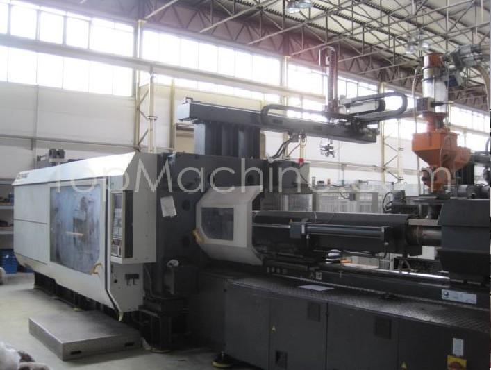 Used Demag Ergotech 1000-8000 Injection Moulding Clamping force 1000 T +