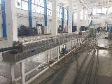 Used Plasco MP 65 HP 30 D Extrusion PE/PP pipe line