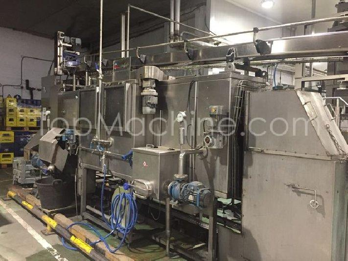 Used Krones Sensometric VP-G Beverages & Liquids Glass filling line