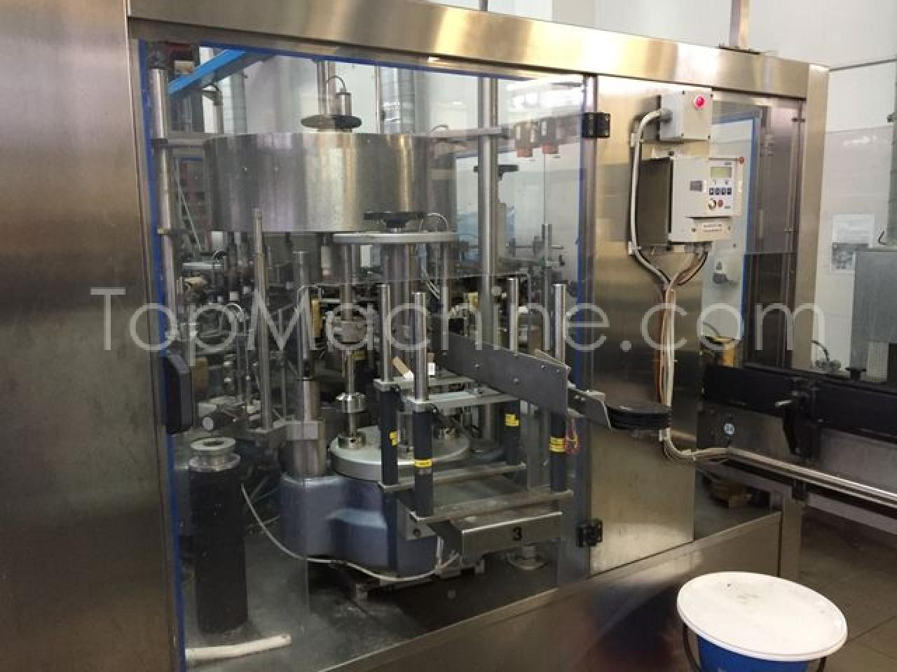 Used AVE RVM 30/8 Beverages & Liquids Glass filling line