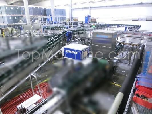 Used KHS Innofill DRS-ZMS 168/24KK/30pi Beverages & Liquids Glass filling line
