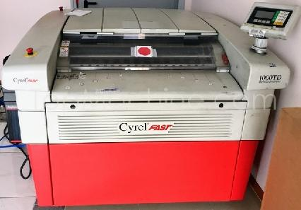 Used DuPont CYREL FAST 1000 TD Film & Print Miscellaneous