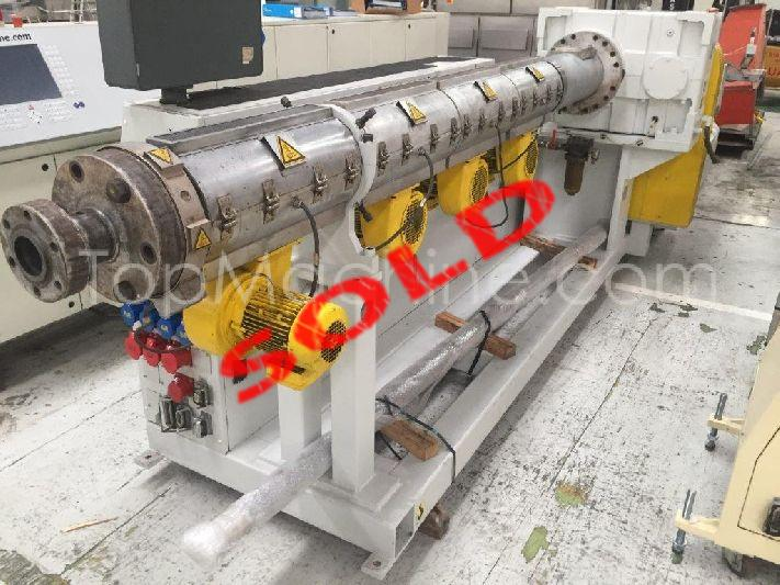 Used Battenfeld BEX 1 90 30B Extrusion PE/PP extruder