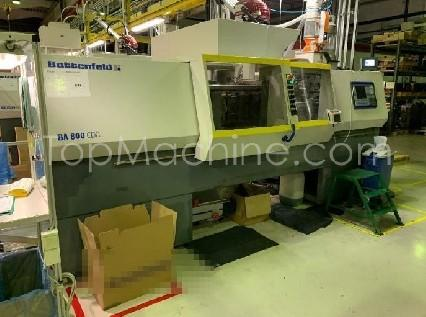 Used Battenfeld BA 800/500 Injection Moulding Clamping force up to 1000 T