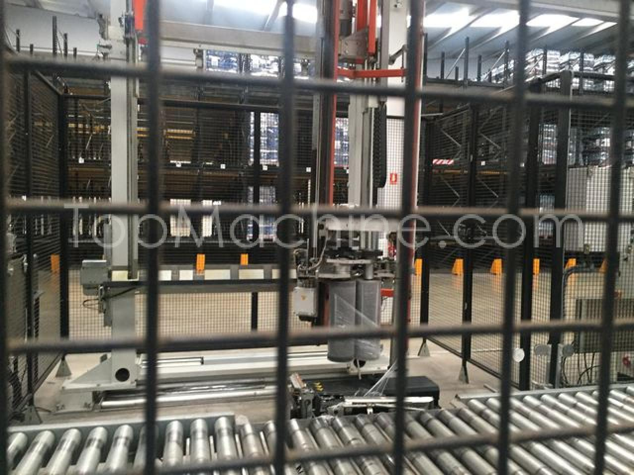 Used Robopac Helix HS 40 Beverages & Liquids Palletizer & Pallet wrapper