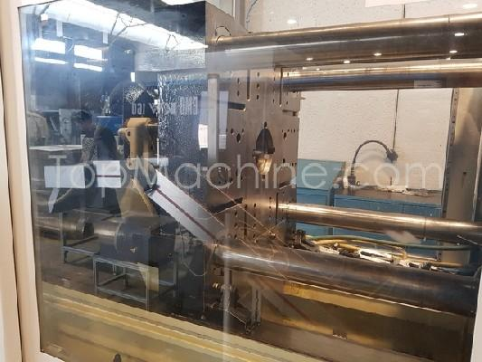 Used Negri Bossi VE 160 440 Injection Moulding Clamping force up to 1000 T