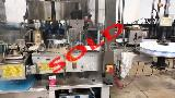 Used P.E. Labellers Rollmatic S790 18 T Beverages & Liquids Labeller