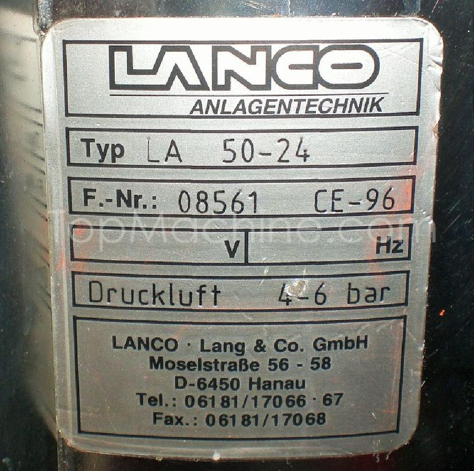 Used Lanco LA 50-24 + LA M1 MHS + LAE 201 Injection Moulding Miscellaneous