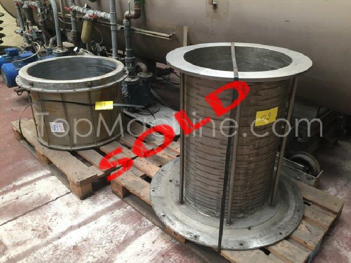 Used Mc Neil Ackron VAB 800/6 Extrusion PE/PP pipe line