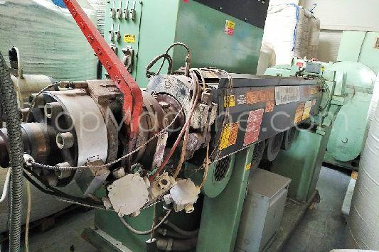 Used Davis Standard 1-63-25D Extrusion PE/PP extruder