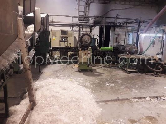 Used Zerma - Erema re-granuling-line RGA 120 VE-LF2/450-HG240 Recycling Repelletizing line
