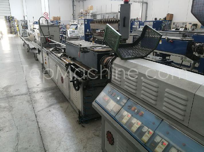 Used TPV Meccanica Spa M60 L/D 22 Extrusion Profile line