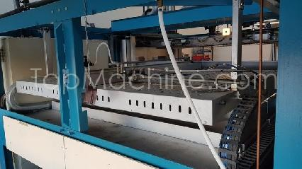 Used Cannon Shelley PF2216 BF Thermoforming & Sheet Vacuum forming