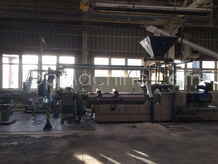 Used Berstorff ZE 75A x 380-UTX Recycling Repelletizing line