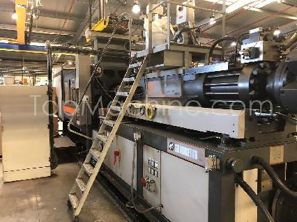 Used Sandretto SM 550 MEGA Injection Moulding Clamping force up to 1000 T
