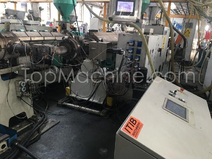 Used ITIB F 360 45 Extrusion Corrugated pipe line
