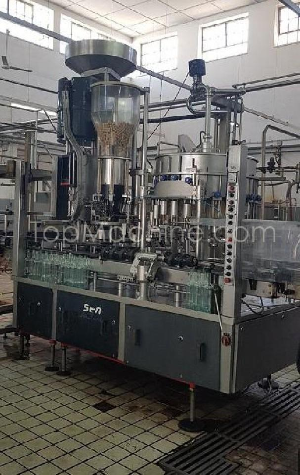 Used SEN (KHS) Compacta H3 Beverages & Liquids Wine filling