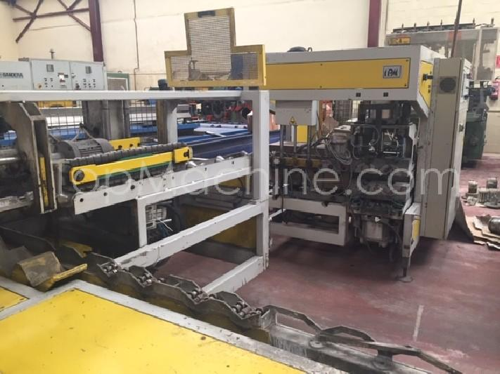 Used IPM BA 125 D Extrusion Belling machine