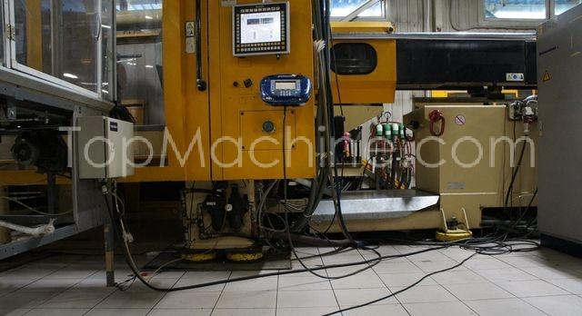 Used Husky Hylectric 800 RS 135/115 Injection Moulding Clamping force up to 1000 T
