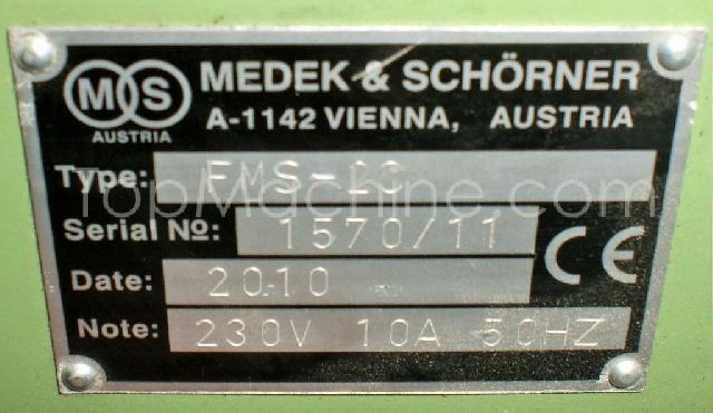 Used Medek & Schoerner FMS 200 Extrusion Miscellaneous