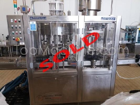 Used Borelli Q12FV Beverages & Liquids Edible oil filling