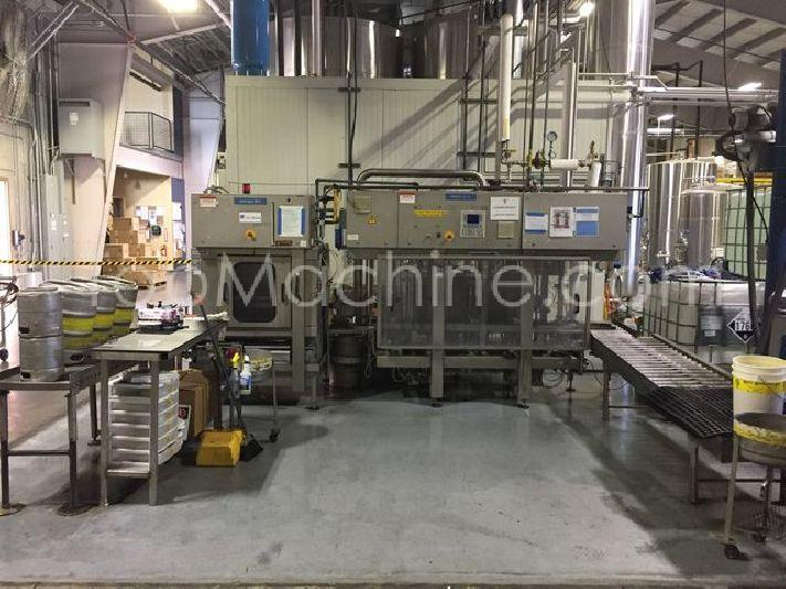 Used MF Ninomat 5/4 Beverages & Liquids Beer filling line
